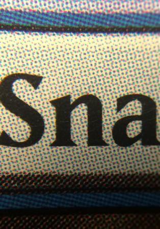 Exemplo de textura de carta real com padrão de impressão
